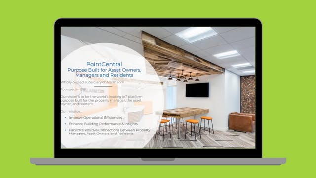 Virtual Demo Day May 2021 - PointCentral
