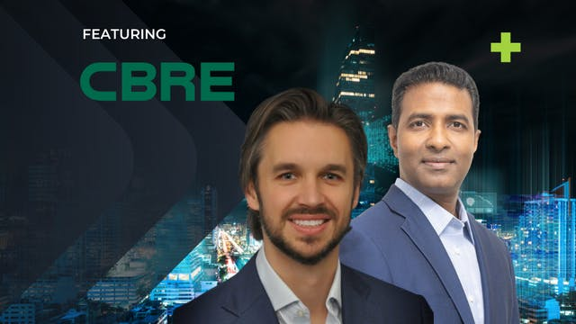 Fireside Chat with CBRE's Chief Data ...