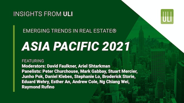 Emerging Trends in Real Estate®  Asia Pacific 2021