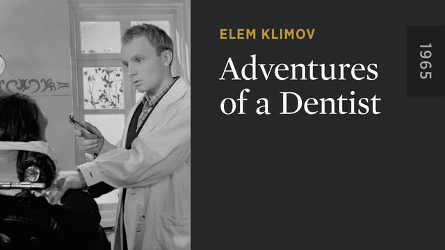 Adventures of a Dentist