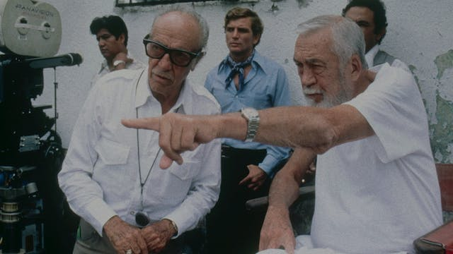 John Huston on UNDER THE VOLCANO at C...