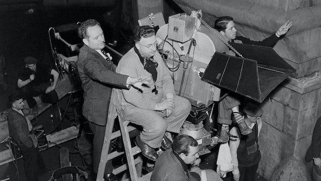 Frank Borzage on HISTORY IS MADE AT NIGHT