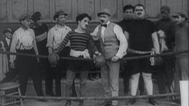 Chaplin the Boxer: THE CHAMPION