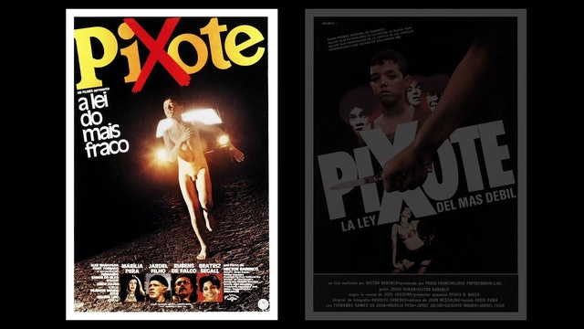 Martin Scorsese on PIXOTE