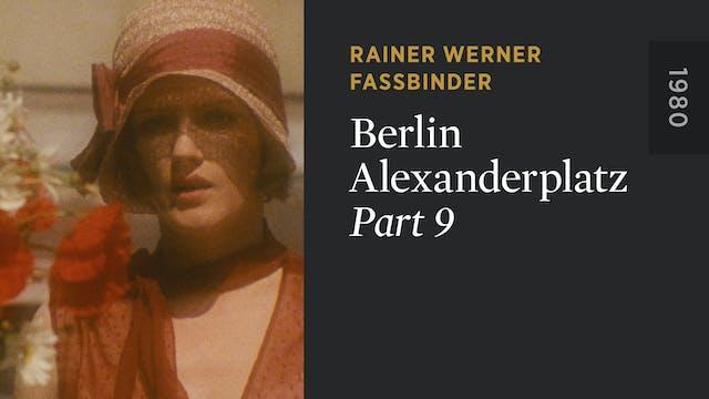 BERLIN ALEXANDERPLATZ: Part 9