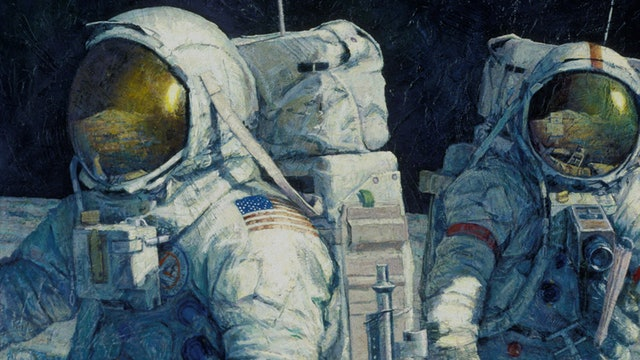Paintings from the Moon