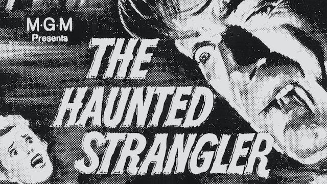 THE HAUNTED STRANGLER Radio Spots
