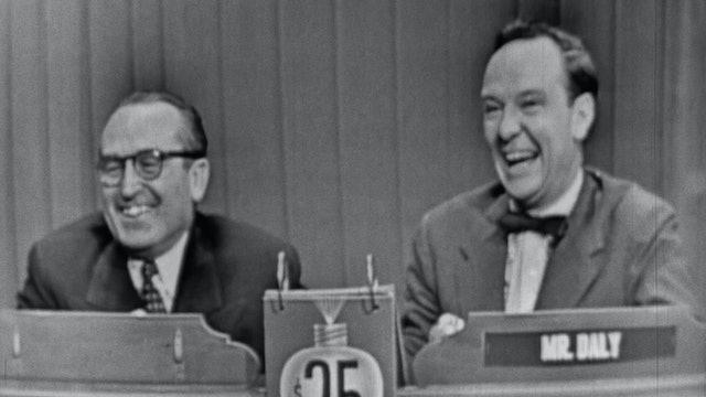 """What's My Line?"": Harold Lloyd, 1953"