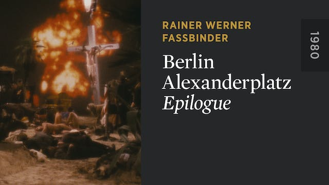 BERLIN ALEXANDERPLATZ: Epilogue