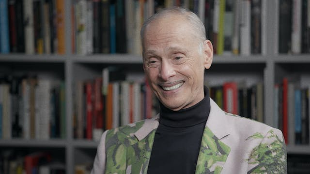 John Waters and Dennis Lim