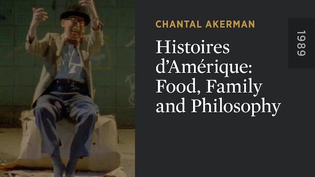 Histoires d'Amérique: Food, Family an...
