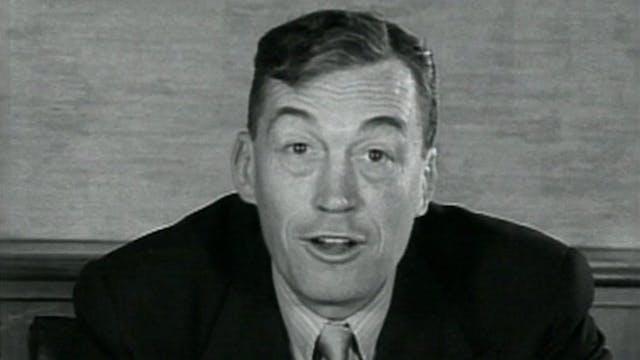 John Huston on THE ASPHALT JUNGLE