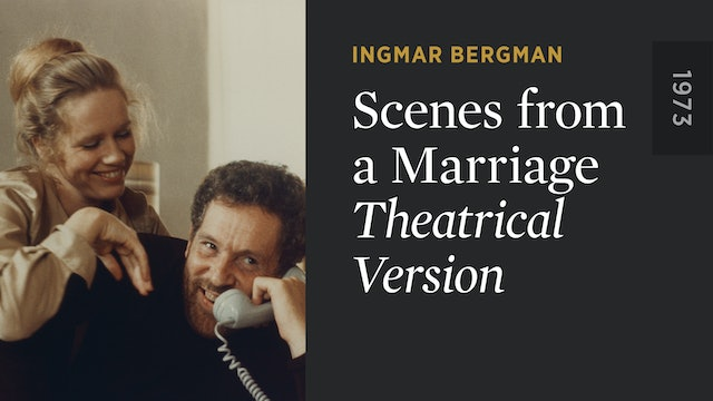 SCENES FROM A MARRIAGE: Theatrical Version