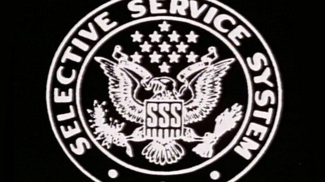 """Split Screen: """"Selective Service System"""" Story"""