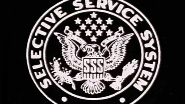 "Split Screen: ""Selective Service Syst..."