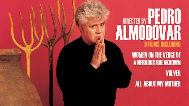 Directed by Pedro Almodóvar