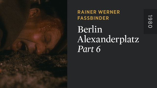 BERLIN ALEXANDERPLATZ: Part 6