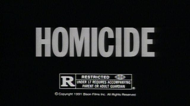 HOMICIDE TV Spots