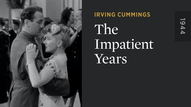 The Impatient Years