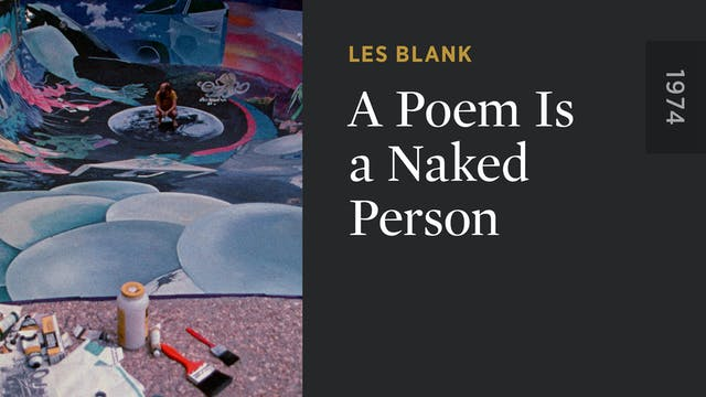 A Poem Is a Naked Person
