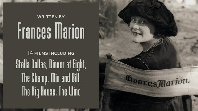 Written by Frances Marion