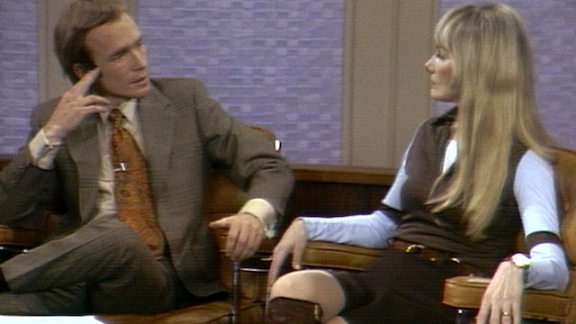 Barbara Loden with Dick Cavett