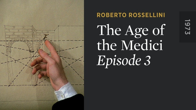 THE AGE OF THE MEDICI: Episode 3