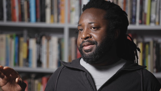 Marlon James on THE THIN BLUE LINE