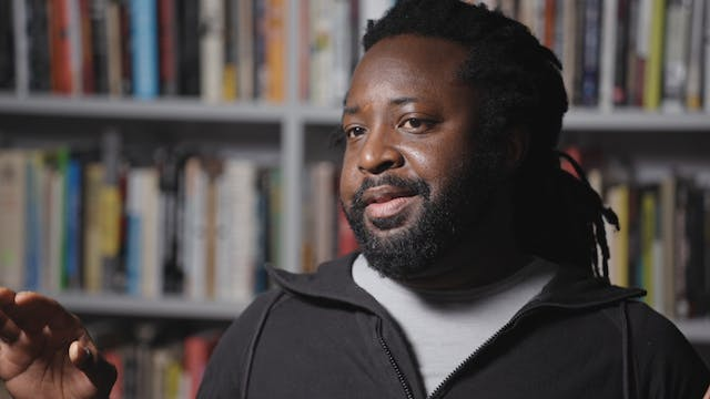 Marlon James on THE THIN BLUE LINE