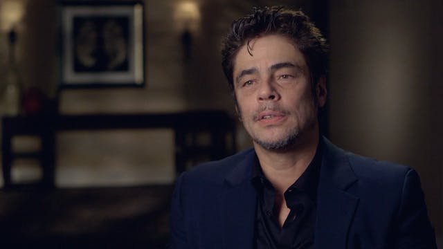 Benicio Del Toro on THE NAKED ISLAND