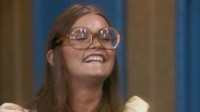 """Margot Kidder on """"The Dick Cavett Show,"""" 1970"""