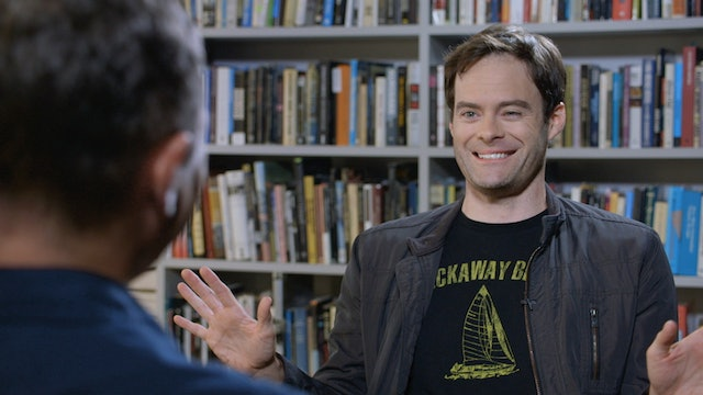 Bill Hader on THE VIRGIN SPRING