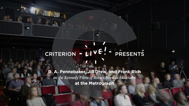 Criterion Live at the Metrograph