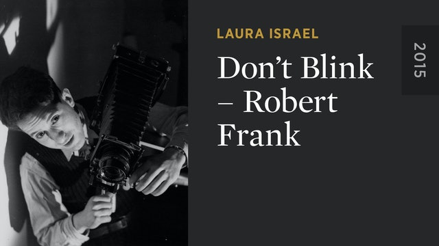 Don't Blink – Robert Frank
