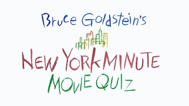 New York Minute Movie Quiz: SPEEDY