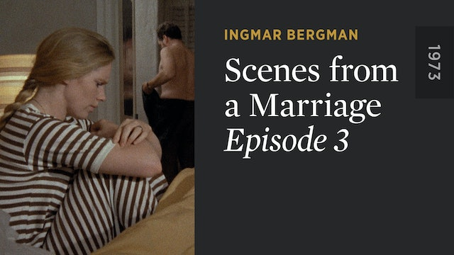 SCENES FROM A MARRIAGE: Episode 3