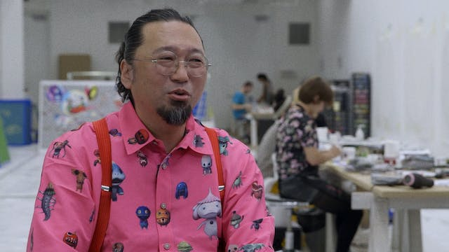 Takashi Murakami on JELLYFISH EYES