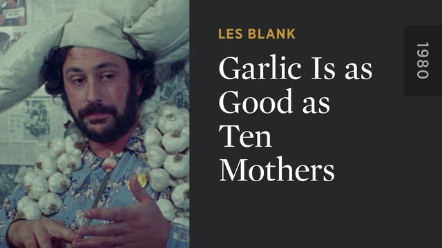 Garlic Is as Good as Ten Mothers