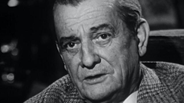 """Marcel Pagnol on """"Cinéaste de notre temps"""""""