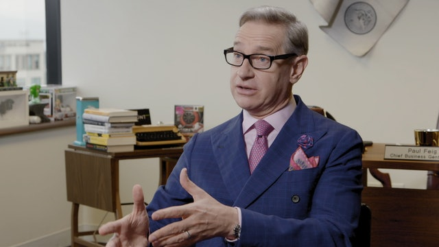 Paul Feig on 8½