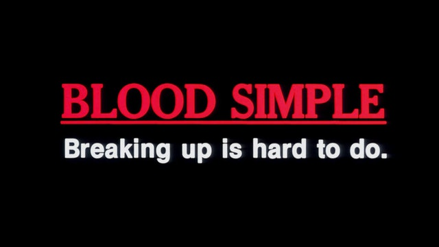 BLOOD SIMPLE Original Trailer
