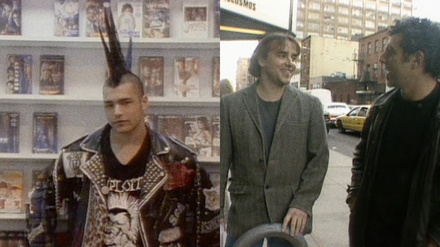 Split Screen: S1-E2 Linklater and Bogosian in NYC, Duct Town