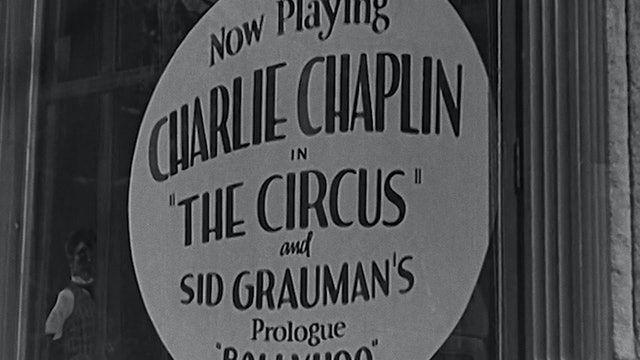 "Chaplin Today: ""The Circus"""