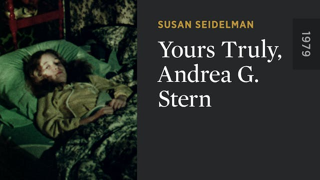 Yours Truly, Andrea G. Stern