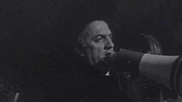 "Reporter's Diary: ""Zoom on Fellini"""