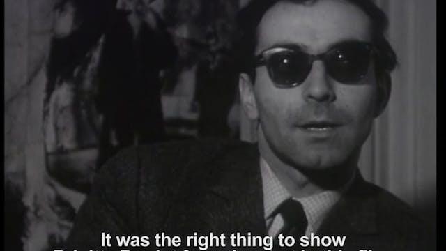 Jean-Luc Godard on CONTEMPT