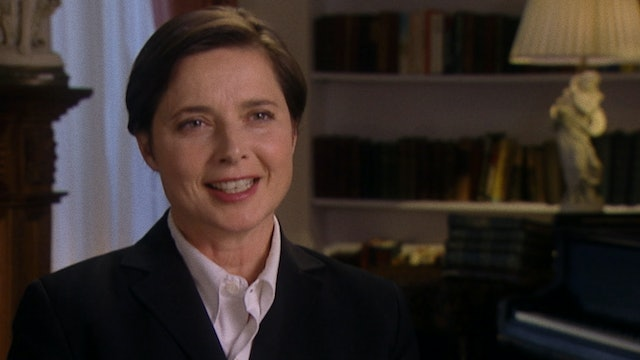 Isabella Rossellini on THE FLOWERS OF ST. FRANCIS