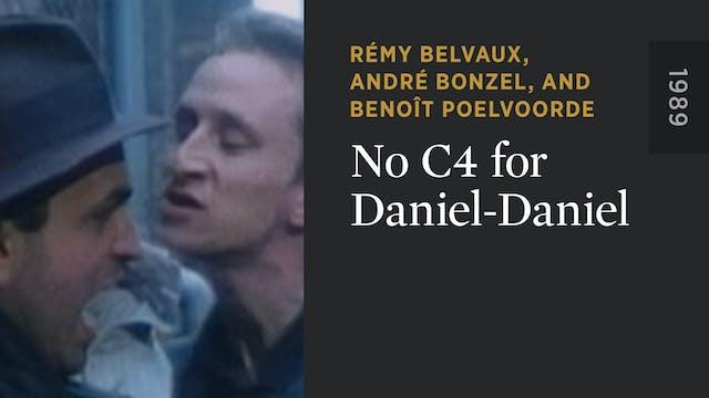 No C4 for Daniel-Daniel