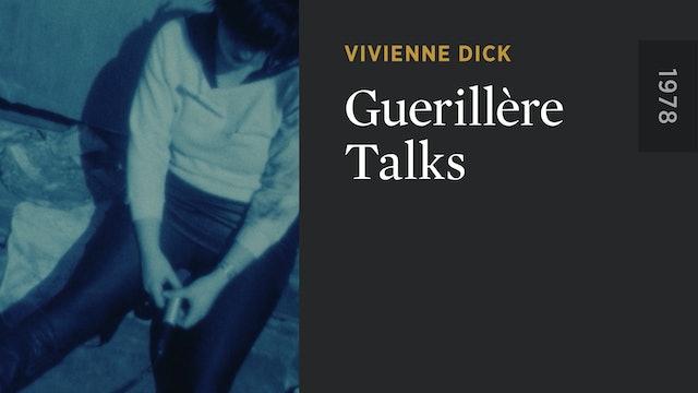 Guerillère Talks