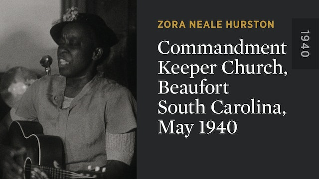 Commandment Keeper Church, Beaufort South Carolina, May 1940